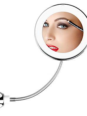 cheap Hand Tools-360 Degree Rotation 10X Magnifying Makeup Mirror My Flexible Mirror Folding Vanity Mirror with LED Light Makeup Tools