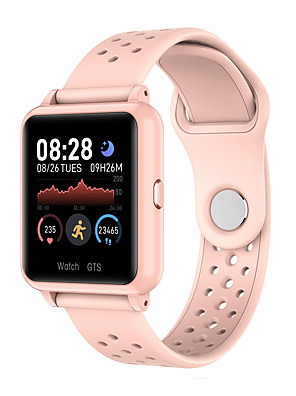 cheap Smart Watches-KUPENG PK8 Unisex Smartwatch Smart Wristbands Android iOS Bluetooth Waterproof Touch Screen Heart Rate Monitor Media Control Exercise Record Pedometer Sedentary Reminder