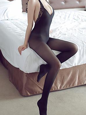 cheap Socks & Hosiery-Women's Thin Pantyhose / Socks - Solid Colored 10D Black Beige One-Size