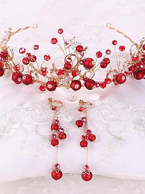 cheap Evening Dresses-Alloy Hair Accessory with Rhinestone / Glitter 3 Pieces Wedding Headpiece