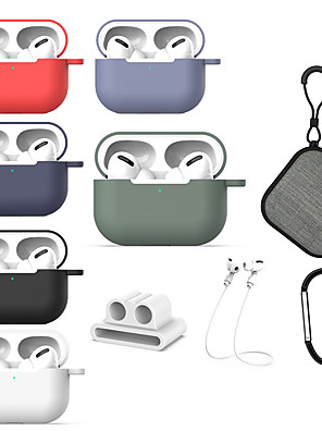 cheap Earphone Accessories-Case For AirPods Pro Shockproof Headphone Case Soft
