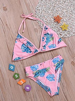 cheap Girls' Dresses-Toddler Girls' Print Swimwear Blushing Pink
