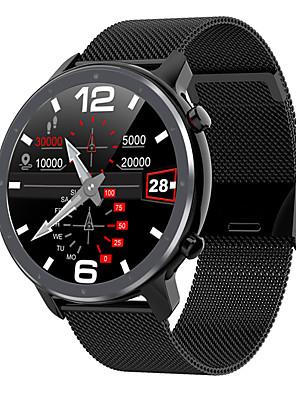 billige Smart Watches-L11 Herre Smartklokke Bluetooth Vanntett Pulsmåler Blodtrykksmåling Distanse måling Informasjon Pedometer Samtalepåminnelse Aktivitetsmonitor Søvnmonitor Stillesittende sittende Påminnelse