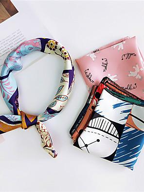 cheap Bikinis-Bandana Work / Basic / Cute Square Scarf / Infinity Scarf - Striped / Color Block