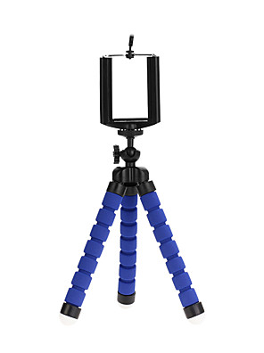 cheap Wireless Chargers-Mini Tripod Portable Flexible Sponge Octopus Stand Mount for GoPro Mobile Phone Smartphone Camera Holder Clip Stand Tripod
