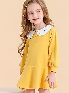 cheap Girls' Dresses-Toddler Girls' Color Block Dress Blushing Pink