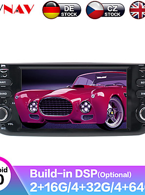 cheap Prom Dresses-ZWNAV 6.2inch 1din IPS DSP 4G 64GB Autoradio Android 9.0 Car DVD Player Car Multimedia Player GPS Navigation Stereo For Fiat/Linea/Punto evo 2012-2015