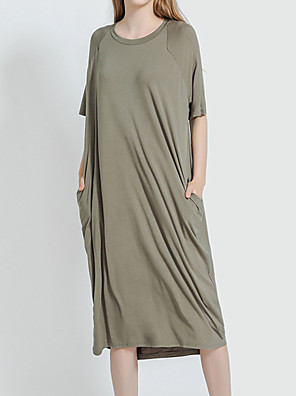 cheap Cocktail Dresses-Women's Chemises & Gowns Nightwear Black Purple Army Green One-Size