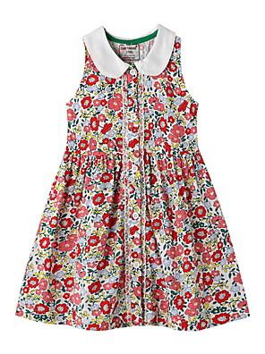 cheap Girls' Dresses-Kids Girls' Floral Dress Red