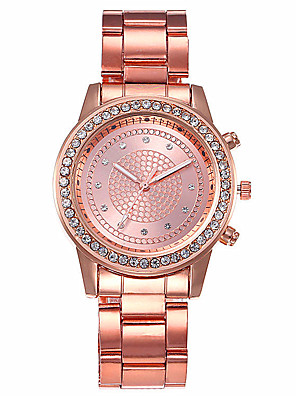 cheap Quartz Watches-Women's Quartz Watches Quartz Stylish Fashion Casual Watch White / Silver / Rose Gold Analog - Rose Gold Gold Silver One Year Battery Life