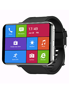 cheap Smart Watches-Face UnlockTICWRIS MAX 2.86 Inch HD Screen Smart Watch 3G32G 4G-LTE 2880mAh Battery Capacity 8MP Camera GPS Watch Phone