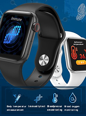 cheap Smart Watches-JSBP PW58  Smart Watch With Body Temperature Test Smart Watch Body Temperature Smart Bracelet Bt Heart Rate Blood Pressure Blood Oxygen For Android Ios System Mobile Phone