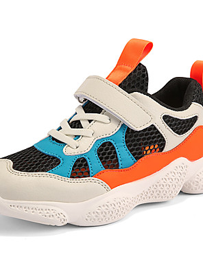 cheap Women's Skirts-Boys' / Girls' Comfort Mesh Athletic Shoes Little Kids(4-7ys) / Big Kids(7years +) Running Shoes / Walking Shoes Pink / Black / Beige Summer / Fall / Color Block