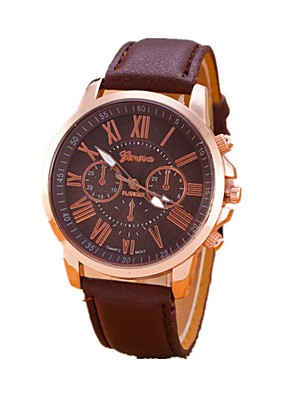 cheap Quartz Watches-Women's Quartz Watches Fashion Elegant Genuine Leather Chinese Quartz Black White Purple Adorable 1 pc Analog One Year Battery Life