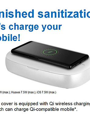 cheap Watches-MOMAX UV-Box Wireless Charging UV Disinfection Box Mask Sanitizer Multi-Function Disinfection Box iPhone iPad iWatch iPod Samsung