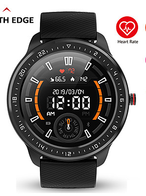 cheap Smart Watches-N06 Fitness Tracker for Android/ IOS Phones, Full Round-screen Smartwatch Support Heart Rate/ Blood Pressure Measurement