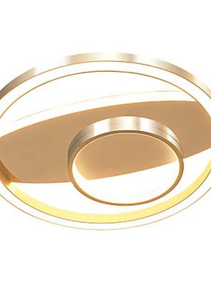 cheap Wedding Dresses-Nordic Creative Network Lighting Modern Golden Ring Living Room Topping 47 w