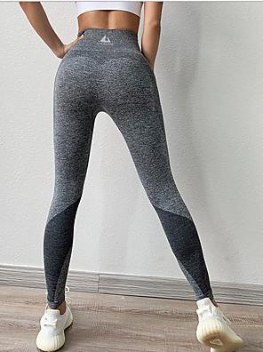 cheap Leggings-Women's Sporty Slim Sweatpants Pants - Solid Colored Black Blue Dusty Rose S / L