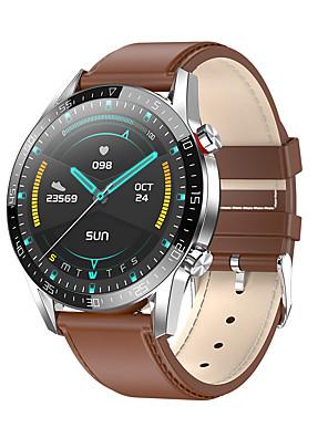 cheap Smart Watches-L7 Smartwatch IP68 Waterproof Fitness Bracelet Tracker Wristwatch ECG Heart Rate Monitor Blood Pressure Call Reminder Smart Watch