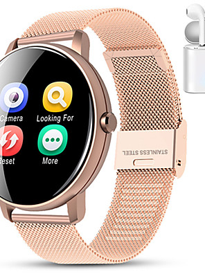 cheap Smart Watches-Indear M9  Women Smart Bracelet Smartwatch BT Fitness Equipment Monitor Waterproof with TWS Bluetooth Wireless Headphones Music Headphones for Android Samsung/Huawei/Xiaomi iOS Mobile Phone