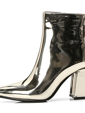 cheap Historical & Vintage Costumes-Cosplay Vintage 1960s Gogo Boots Women's Costume Golden / Silver Vintage Cosplay Party