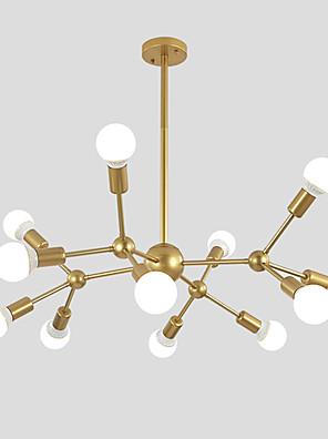 cheap Prom Dresses-Chandelier Ambient Light Painted Finishes Metal Sputnik Design, Cluster Design 110-120V / 220-240V