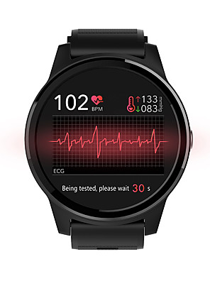 cheap Smart Watches-NORTH EDGE E101 Unisex Smartwatch Android iOS Bluetooth Touch Screen Heart Rate Monitor Blood Pressure Measurement Calories Burned Information ECG+PPG Pedometer Call Reminder Sleep Tracker Sedentary