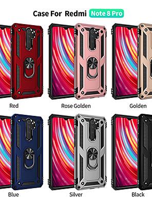 povoljno Maske/futrole za Xiaomi-Θήκη Za Xiaomi Xiaomi Redmi 7 / Xiaomi Mi 9 / Xiaomi Mi 9 SE Otporno na trešnju / Prsten držač Stražnja maska Jednobojni / Oklop TPU / PC