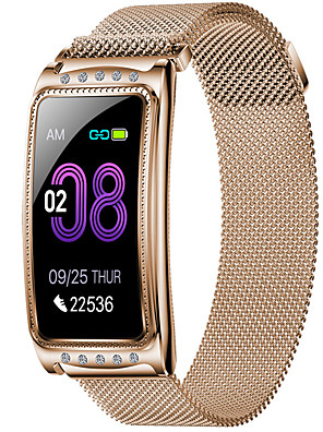 cheap Smart Watches-F28 Unisex Smart Wristbands Android iOS Bluetooth Waterproof Heart Rate Monitor Blood Pressure Measurement Distance Tracking Information Pedometer Call Reminder Activity Tracker Sleep Tracker