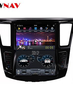 cheap Men's Hats-ZWNAV 12.1inch 1din 2GB 32GB Tesla style Android 6.0 Car multimedia player Car GPS Navigation Car MP5 Player For Infiniti QX60 Infiniti JX35 2012