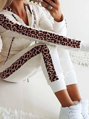 cheap Sexy Lingerie-Women's Hoodie - Color Block Pant