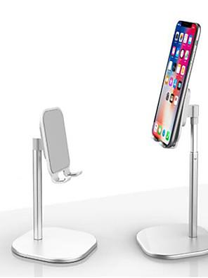 cheap Phone Mounts & Holders-Aluminum Alloy Table Stand Telescopic Metal Table Bracket Universal Mobile Phone Holder 360 Degree Rotation