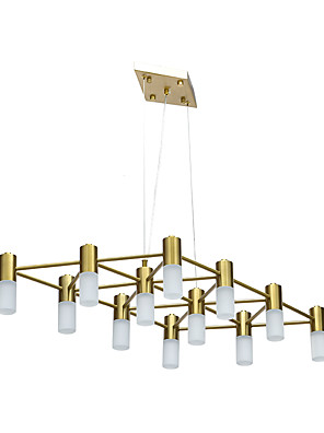 cheap Baby & Kids-ZHISHU 84.5 cm Cluster Design Chandelier Metal Gold Traditional / Classic / Nordic Style 110-120V / 220-240V