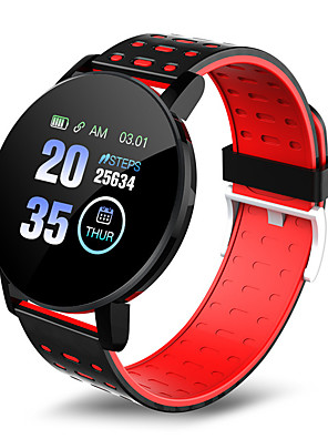 cheap Smart Watches-119 PLUS Unisex Smart Wristbands Android iOS Bluetooth Waterproof Heart Rate Monitor Blood Pressure Measurement Distance Tracking Information Pedometer Call Reminder Activity Tracker Sleep Tracker