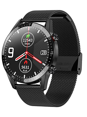 cheap Smart Watches-L13 Smart Watch Men ECGPPG IP68 Waterproof Bluetooth Call Blood Pressure Heart Rate Fitness Tracker sports Smartwatch