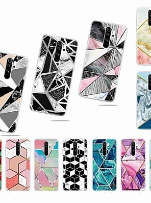 povoljno Maske/futrole za Xiaomi-Θήκη Za Xiaomi Xiaomi Redmi Note 5 Pro / Xiaomi Redmi Note 6 / Xiaomi Redmi Note 4X Mutno / Uzorak Stražnja maska Geometrijski uzorak TPU
