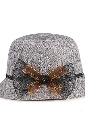 cheap Cocktail Dresses-Plain Plaids Hats with Solid 1 Piece Casual / Daily Wear Headpiece