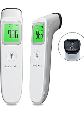cheap Cocktail Dresses-In Stock Non-contact Infrared Thermometer Digital Clinical  Thermometer Baby Forehead Thermometer with CE & FDA Approved for Kids / Men and Women / Mini Style / Switching Between ℉/ ℃