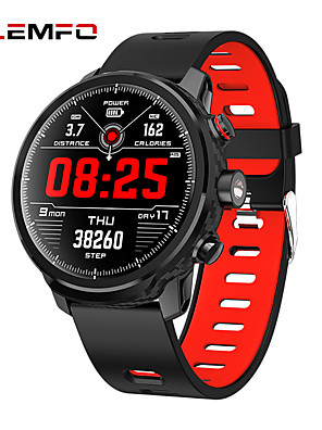 cheap Smart Watches-LEMFO L5 Unisex Smartwatch Android iOS Bluetooth Waterproof Heart Rate Monitor Blood Pressure Measurement Distance Tracking Information Pedometer Call Reminder Activity Tracker Sleep Tracker