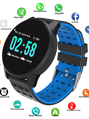 cheap Smart Watches-B2 Unisex Smartwatch Android iOS Bluetooth Waterproof Heart Rate Monitor Blood Pressure Measurement Long Standby Information Timer Pedometer Call Reminder Activity Tracker Sleep Tracker