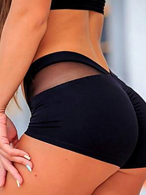 cheap Leggings-Women's Sporty Legging - Solid Colored Mid Waist White Black XS S M