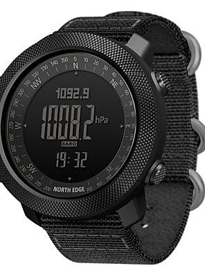 cheap Smart Watches-NORTH EDGE APACHE Unisex Smartwatch Android iOS Bluetooth Waterproof Calories Burned Long Standby Distance Tracking Information Stopwatch Pedometer Call Reminder Activity Tracker Sleep Tracker