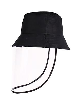 cheap Men's Hats-Men's Women's Work Basic Cotton Floppy Hat Sun Hat-Solid Colored Spring Summer Black