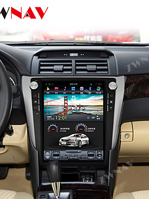 cheap Wedding Dresses-ZWNAV 12.1 Inch 1DIN Vertical screen 4GB 64GB Android 8.1 Car DVD Player GPS Navigation Car Multimedia Player Stereo In-dash for Toyota Camry Aurion 2012- 2016