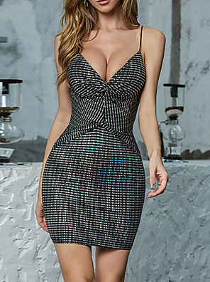 cheap Women's Dresses-Womens Knotted Ruched Detail Sexy Sleeveless Club Wrap Tube Bodycon Fashion Dress MM0425