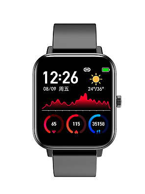 cheap Smart Watches-H8 Unisex Smart Wristbands Bluetooth Touch Screen Heart Rate Monitor Blood Pressure Measurement Calories Burned Long Standby ECG+PPG Pedometer Call Reminder Activity Tracker Sleep Tracker