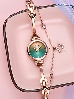 cheap Quartz Watches-Women's Quartz Watches Luxury Fashion Alloy Chinese Quartz Green White Brown Water Resistant / Waterproof 30 m Analog One Year Battery Life