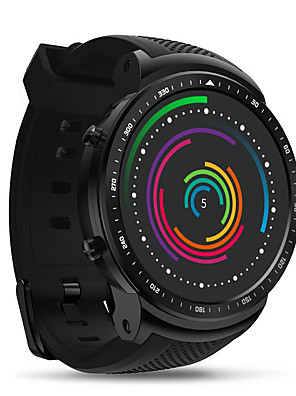 cheap Smart Watches-Zeblaze THOR PRO Unisex Smartwatch Android iOS Bluetooth Waterproof Heart Rate Monitor Blood Pressure Measurement Calories Burned Health Care ECG+PPG Timer Pedometer Temperature Display