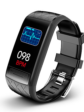 cheap Smart Watches-KUPENG V3E Unisex Smartwatch Android iOS Bluetooth Waterproof Heart Rate Monitor Blood Pressure Measurement Sports Information ECG+PPG Pedometer Call Reminder Activity Tracker Sleep Tracker
