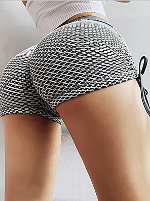 cheap Leggings-Women's Sporty Slim Shorts Pants - Multi Color Dark Gray S / M / L